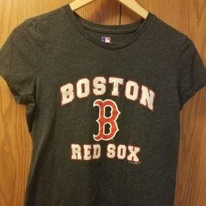 Ladies Like New Boston Red Sox T shirt